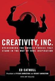 book cover of Creativity Inc