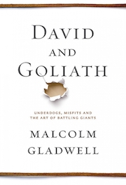 book cover of David and Goliath