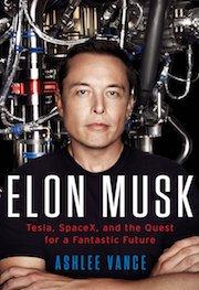 Elon Musk biography book cover