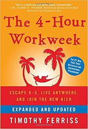 book cover of The Four Hour Work Week