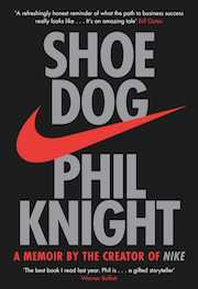 Shoe Dog book cover