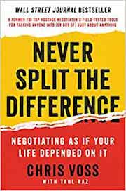 book cover of Never Split the Difference