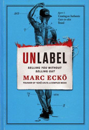 Unlabel book cover